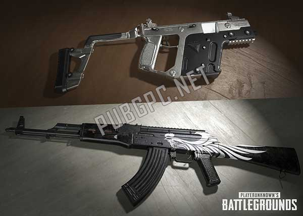 All weapons come out with realistic images in PUBG