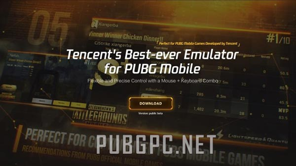 Tencent Gaming Buddy for PUBG