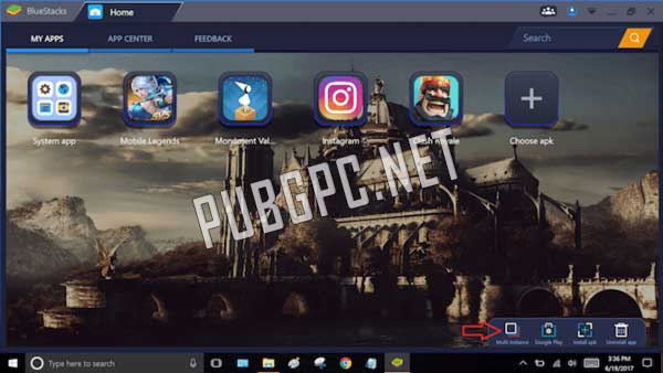 Bluestacks is another great emulator to play PUBG