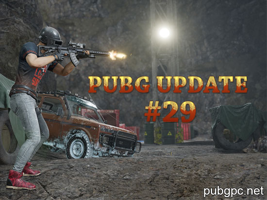 PUBG Update #29: Additions and big changes