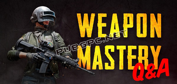 PUBG Weapon Mastery Q&A and Reddit AMA Recap | PUBG PC Game