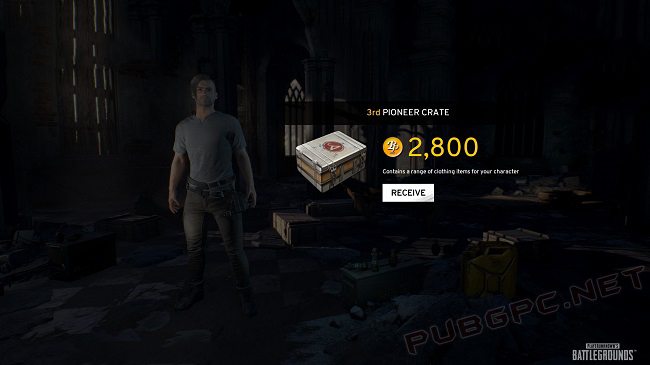 Battle Points Are Used For Purchasing Free Items In PUBG Game