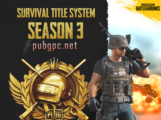 PUBG PC: Survival Title Season 3