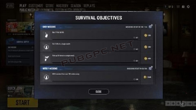 Take A Look Over Jobs By Pressing The Banner On The Left Of The Lobby, Like The Survivor Pass