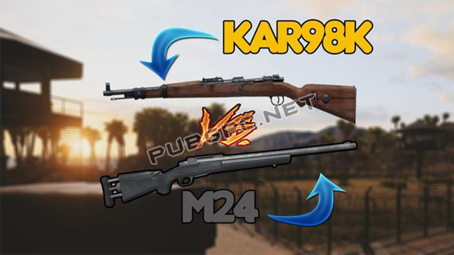 Differences Between Kar98 Weapon and M24