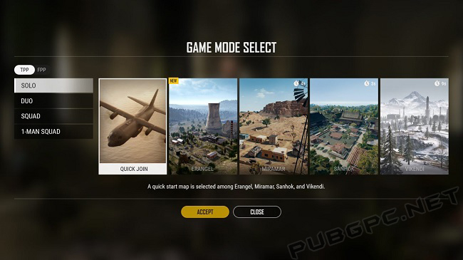 PUBG Features A Wide Range Of Game Modes