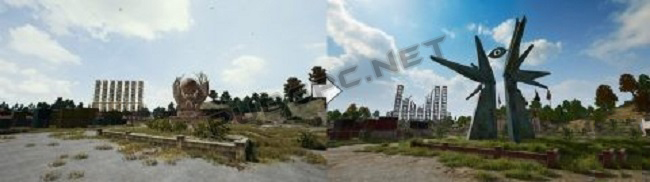 The Before And Now Images Of Military Base In PUBG PC