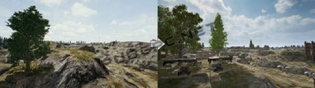 The Before And Now Images Of Quarry In PUBG PC