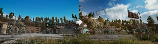 The Before And Now Images Of Prison In PUBG PC