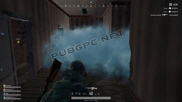 Launch Special PUBG Weapons Into The Area Or Outside Before Breaking Into To Prevent Being Slain