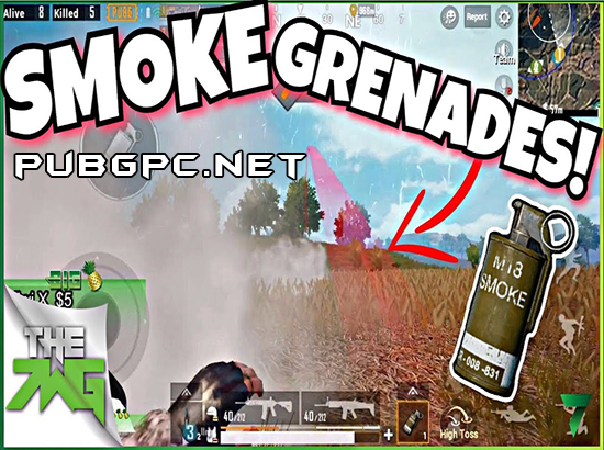 Smoke Grenades In PUBG PC
