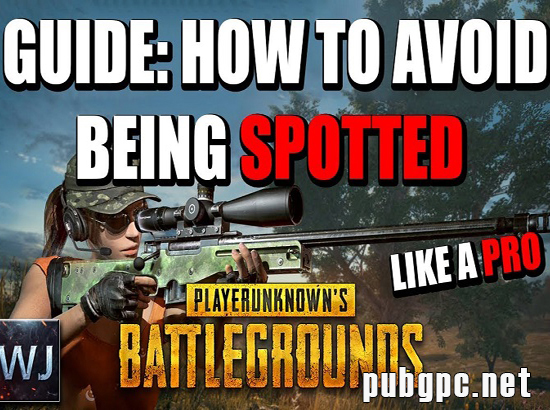 Tips To Avoid Being Spotted In PUBG