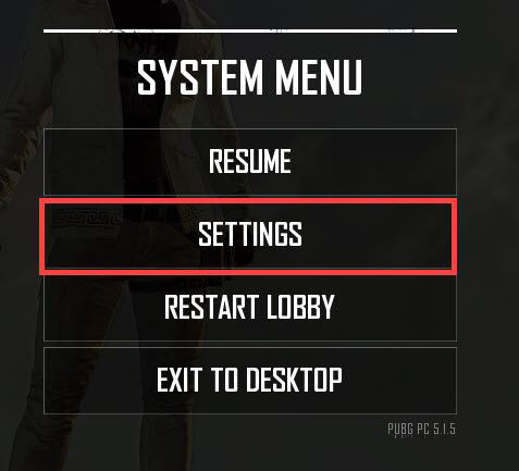 Settings To Set Up And Edit For PUBG PC