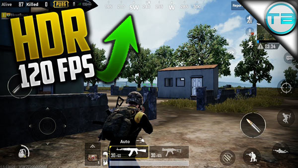 90 FPS Gaming Modes supported in PUBG Mobile 2020