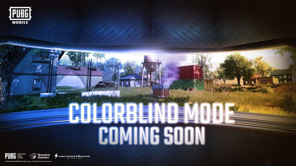Color Blind Mode will be added to PUBG Mobile 2020