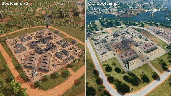 The Bootcamp v2 versus old Bootcamp