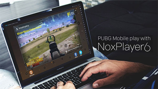 One of the best emulators for you to play PUBG Mobile- Nox Player 6.