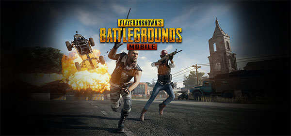 Main interface of PUBG Mobile game